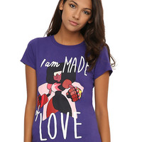 Steven Universe Garnet Made Of Love Girls T-Shirt