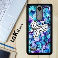 Panic At The Disco Flower X4351 LG K8 2017 / LG Aristo / LG Risio 2 / LG Fortune / LG Phoenix 3 Case