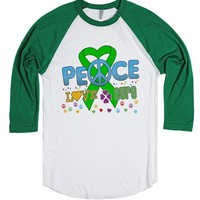 Adrenal Cancer Groovy Peace Love Cure Shirts