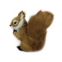 Mini Stuffed Plush Lovely Squirrel Animal Toys For Kids