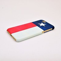 Iphone 6 Case, Texas Flag Pattern 3d-sublimated, Mobile Accessories.