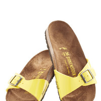 Birkenstock Pastel Zest Foot Forward Sandal in Lemon