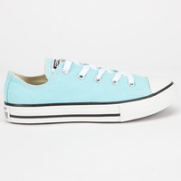Converse Chuck Taylor All Star Low Girls Shoes Aqua  In Sizes