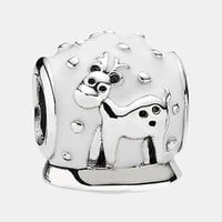 Women's PANDORA '12 Days of Christmas - Day 8' Snow Globe Bead Charm