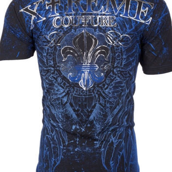 Men's Xtreme Couture Affliction Honorable Wings Tattoo Shirt