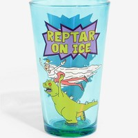 Rugrats Reptar On Ice Pint Glass