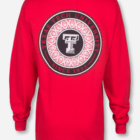 Texas Tech Lace Puff Long Sleeve Shirt