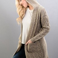 See Me Now Knit Cardigan
