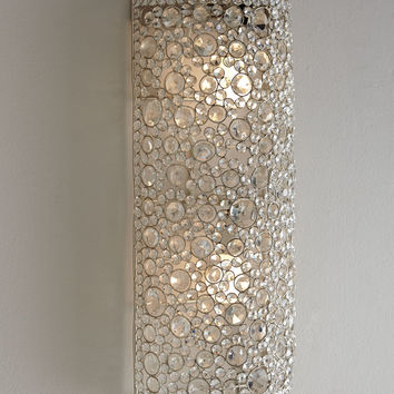 Four Hands Scattered Crystal Sconce