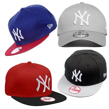 New Era 9FIFTY MLB New York Yankees Cotton Block Snapback Cap