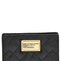 Women's MARC BY MARC JACOBS 'Classic Q - Kirsten' Quilted Leather Billfold Wallet