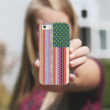 United States Beauty flag iPhone 5s case by Sharon Turner | Casetagram ~ get $5 off using code: 5A7DC3