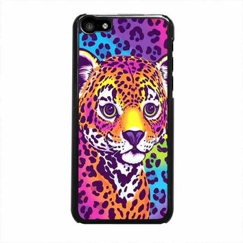 lisa frank hunter the leopard iphone 5c 4 4s 5 5s 6 6s plus cases