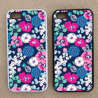 Floral Pattern iPhone Case, iPhone 5 Case, iPhone 4S Case, iPhone 4 Case - SKU: 144