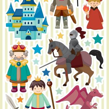 Brewster Wallpaper CR-18103 Castle Wall Decals