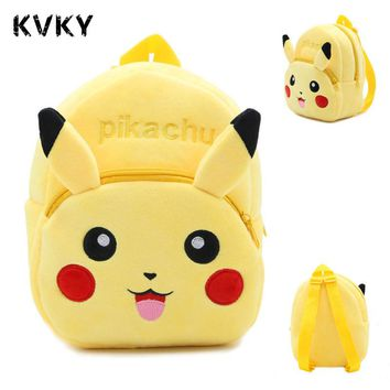 Anime Pokemon Pikachu Backpack Pokemon Cosplay toys Backpacks School Bags for Kids Kawaii Mochila Feminina