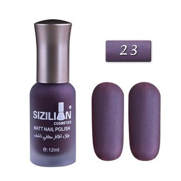 40 Colors Matte Dull Nail Polish Fast Dry Long-lasting Nail Art 12ml Varnish Lacquer Nail Color