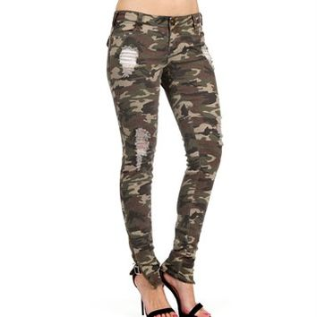 Pre-Order: Olive Camo Pants