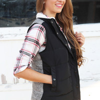 Two Prints Collide Vest