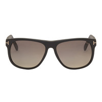 Tom Ford Black Matte Tf236 Oliver Sunglasses