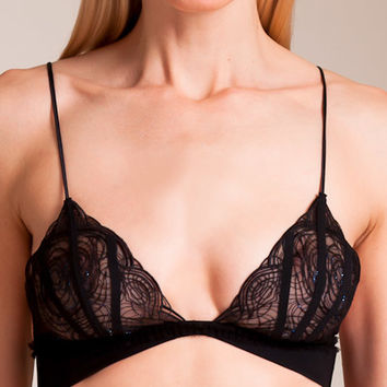 La Perla: Elements Triangle Bra | Nancy Meyer
