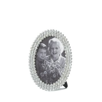 Dazzling Oval Picture Frame