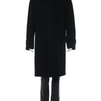 Burberry London Wool Trench Coat