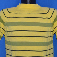 80s Striped Poor Boy Sweater t-shirt Medium