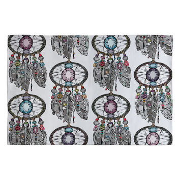 Sharon Turner Gemstone Dreamcatcher Woven Rug
