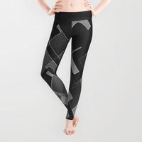 High End Corner Unit Leggings by Fringeman