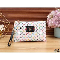 LV tide brand female zip wallet #4