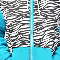Apliiq The Zebrasaurus Zip Hoodie : Karmaloop.com - Global Concrete Culture