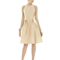 Alfred Sung by Dessy D696 Short Tank Bridesmaid Dress