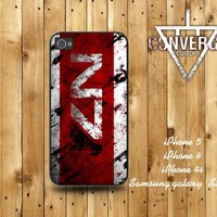 N7 Mass effect-crack iPhone 4/4S Case iPhone 5 Case Samsung Galaxy S2 Case Samsung Galaxy S3 Case
