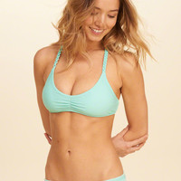 Girls Racerback Scoop Bikini Top | Girls Swimwear | HollisterCo.com