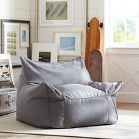 Sack Chair, Highlands Gray