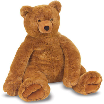Melissa & Doug Plush Jumbo Brown Teddy Bear | Overstock.com Shopping - The Best Deals on Animal Toys