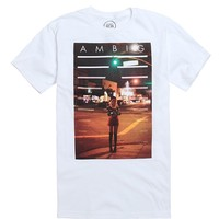 AMBIG Cherry T-Shirt - Mens Tee - White
