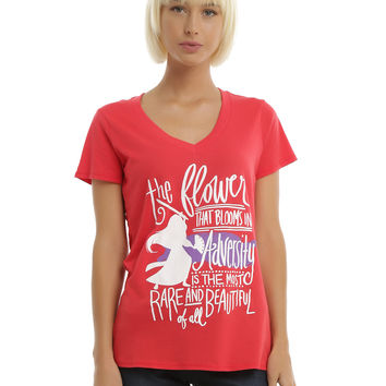 Disney Mulan Adversity Girls T-Shirt