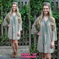 Lace The Facts Dress in Toffee