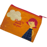 What's it Worth to You Coin Purse