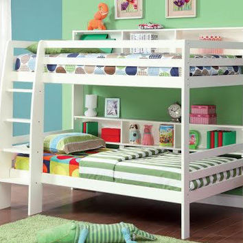 Stewart Big Bookcase Bunk Beds