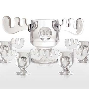 Christmas Vacation Moose Mug Punch Bowl  - Clark Griswold Collection - Clark W. Griswold, Eggnog Moose Mugs and all things National Lampoon's Christmas Vacation.