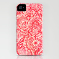 red iPhone & iPod Case by Yes Menu
