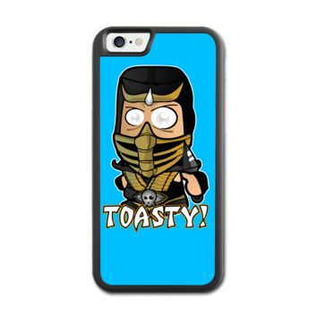 Chibi Scorpion-Mk Toasty  iPhone 6 Rubber Case (4.7 Inch) - Rubber Personalized iPhone 6 Cases (4.7 Inch)