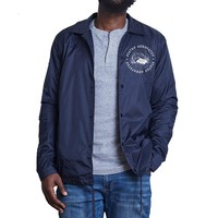 Status Apparatus - Bread Ribs Coach's Jacket - Navy