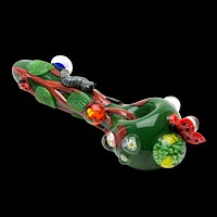 Empire Glass Garden Critters Glass Pipe