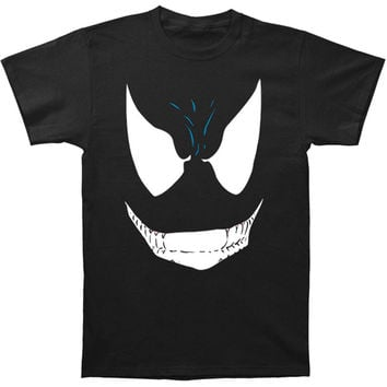 Venom (Marvel Comics) Men's  Face Slim Fit T-shirt Black Rockabilia