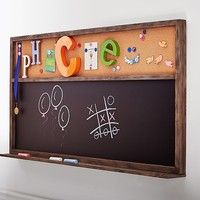 Jumbo Chalk & Cork Board