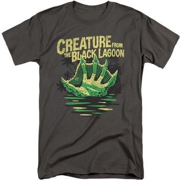 Creature from the Black Lagoon Tall T-Shirt Hand Charcoal Tee